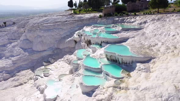 Thumbnail for Aerial view of Pamukkale - Turkey.