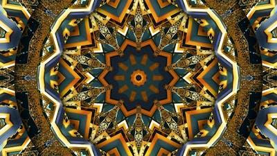 Arabic Ornament Kaleidoscope