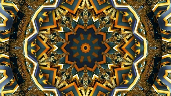 Cover Image for Arabic Ornament Kaleidoscope