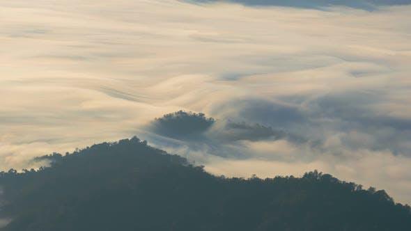 Thumbnail for Moving Fog On Mountain