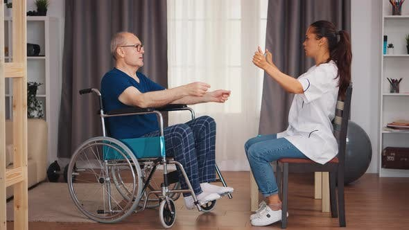 Body Recovery Exercise in Retirement Home