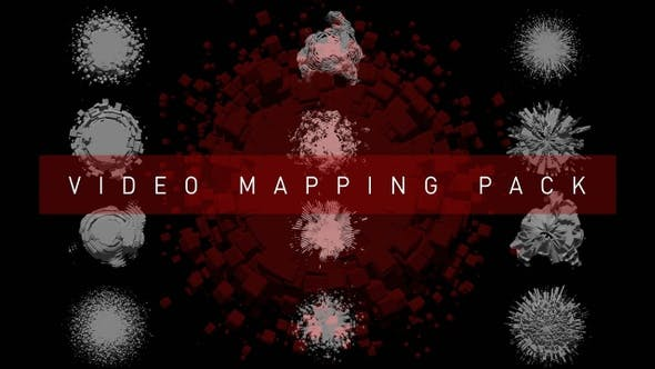 Thumbnail for Video Mapping Pack