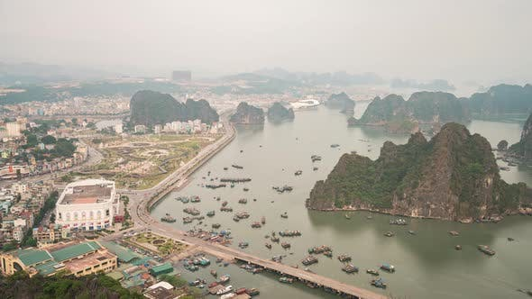 Thumbnail for Ha Long Bay Vietnam Timelapse