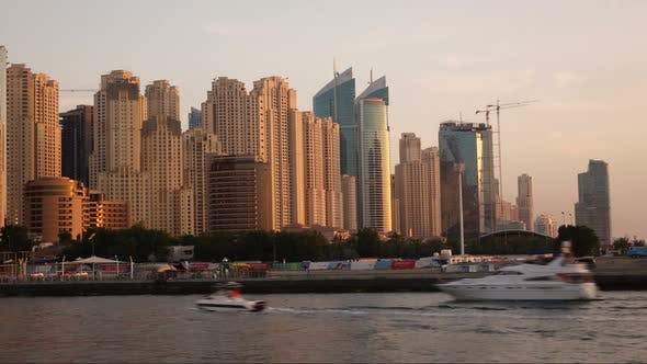 Thumbnail for Timelapse of Dubai Marina