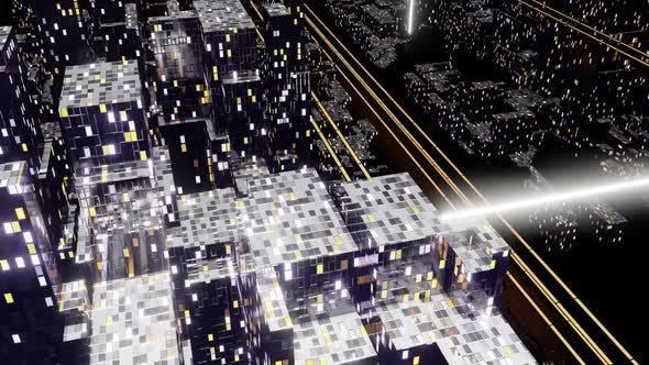 Thumbnail for Dark Night City Street 03 HD