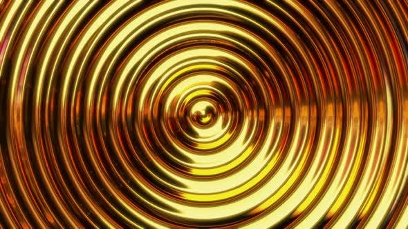 Golden Award Background Waves Loop