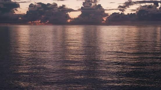 Thumbnail for Sunrise and sea in ishigaki island of Japan