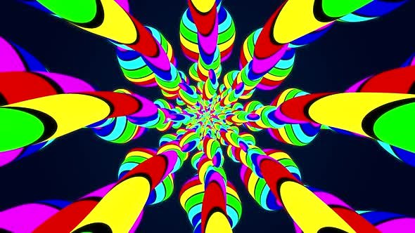 Cover Image for Striped Kaleidoscope