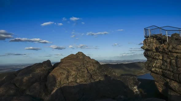 Timelapse from lookout at Pinnacle