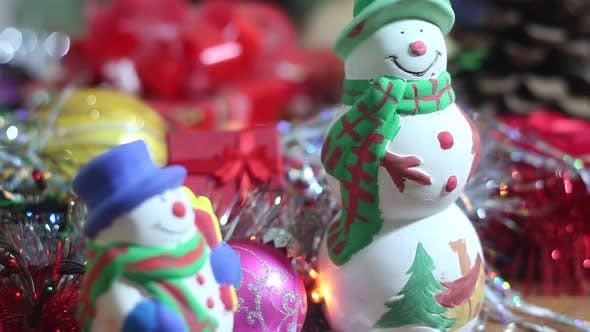 Christmas Lights And Toys