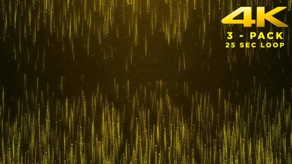 Thumbnail for Gold Particles Background - 3 Pack