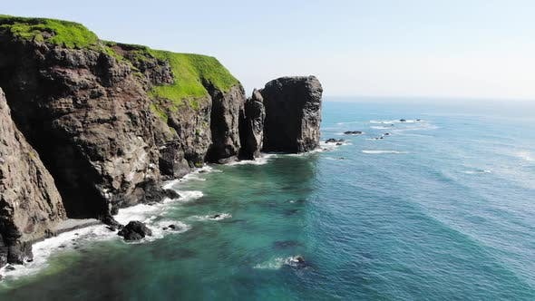 Thumbnail for Rocky Coast of the Pacific Ocean on the Kamchatka Peninsula