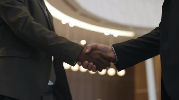 Thumbnail for Multi Ethnic Partners Making a Deal