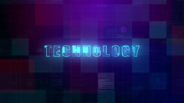 Technology Digital Futuristic Background 898