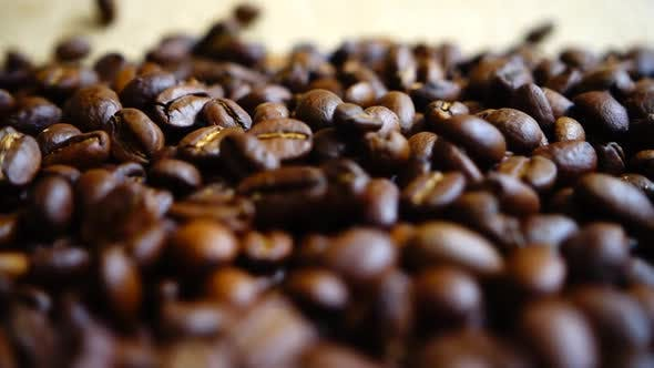 Thumbnail for Coffee Beans Falling on the Sack 3