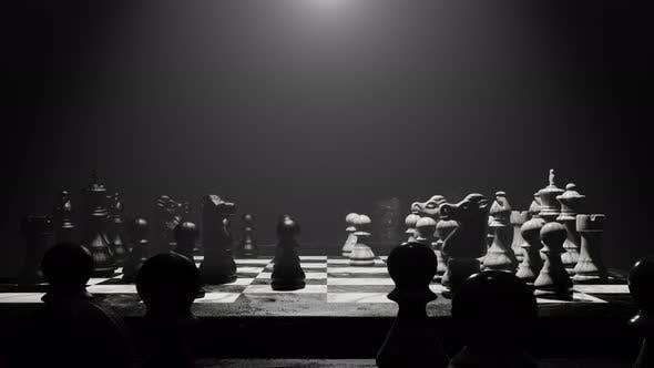 Enjoy In Chess Board 04 4K