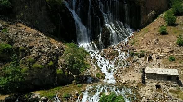 Tourism Waterfall