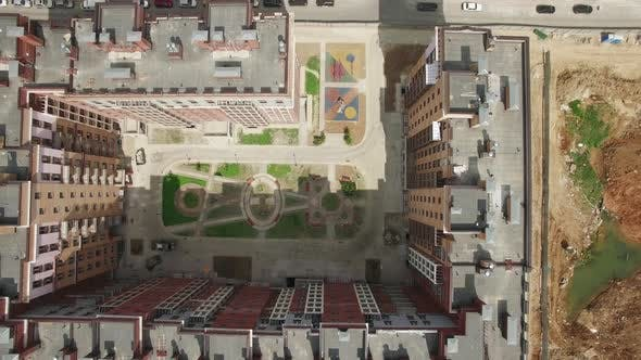 Thumbnail for A Top View of a Multi Storey Residential Building