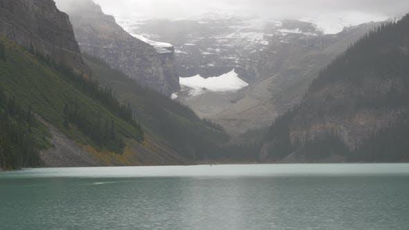 Thumbnail for Pan right of Lake Louise, Banff National Park