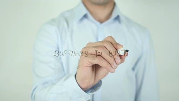 Thumbnail for Business To Business, Schreiben auf dem Bildschirm