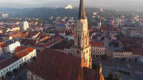 Aerial view of St. Michels Church