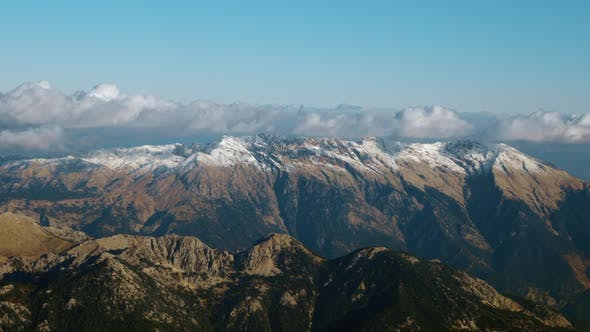 Thumbnail for - Picturesque Aerial View of Mountain Range