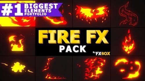 2D Fx Fire Elements