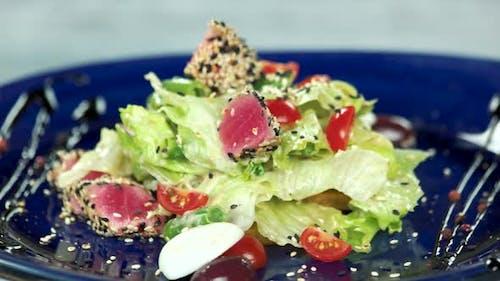 Nicoise Salad, Quail Egg.
