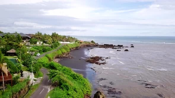 Cover Image for Flying Over Bali Coastline
