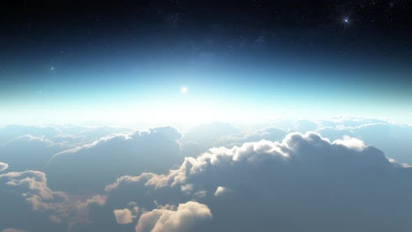 Earth View Above The Cloud 08 HD