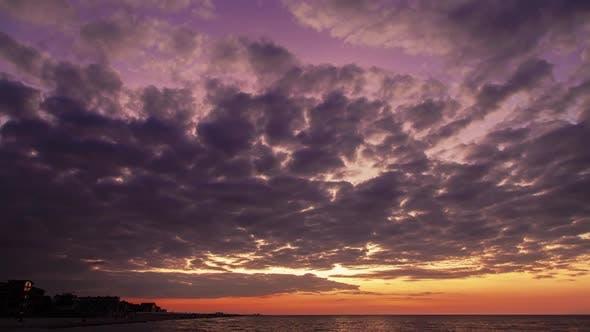 Sea Sunrise Background