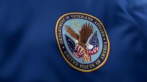 United States Department of Veterans Affairs Flag - 4K