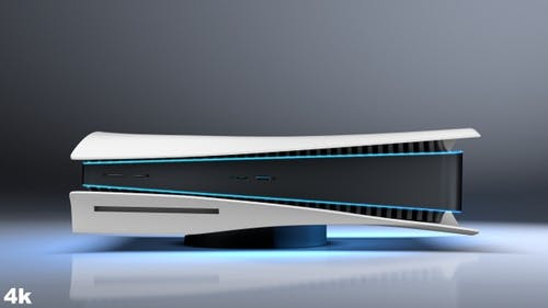 PS5 Gaming Console in Two Colors