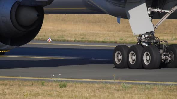 Thumbnail for Airplane Towing To Service, Close-up