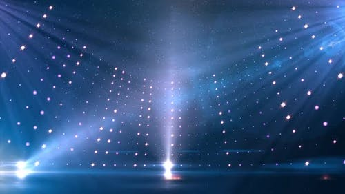 Lights And Glowing Particles Entertainment Studio Set