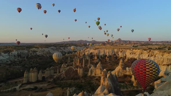 Thumbnail for Balloons Over Cappadocia