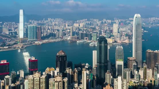Thumbnail for Timelapse of Hong Kong city