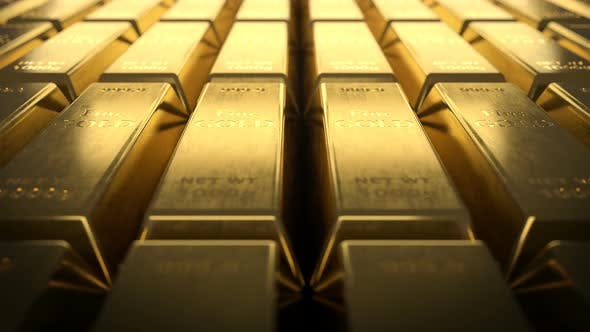 Cover Image for Close-up View of Fine Gold Bars