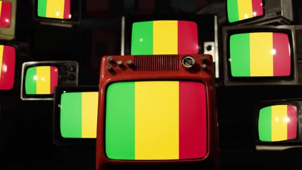 Thumbnail for Flag of Mali and Retro TVs.