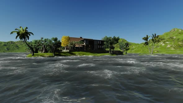 Thumbnail for Panoramic view of the Villa during the day