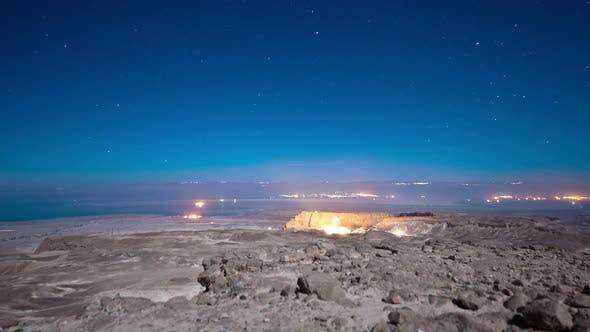 Cover Image for Night time-lapse at Masada