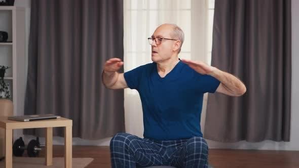 Thumbnail for Elderly Man Exercising