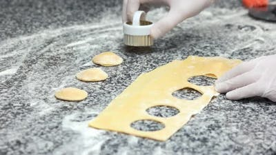 Food Preparation Ravioli Cutter