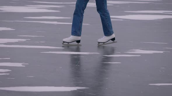 Thumbnail for Ice Skating on a Frozen Lake