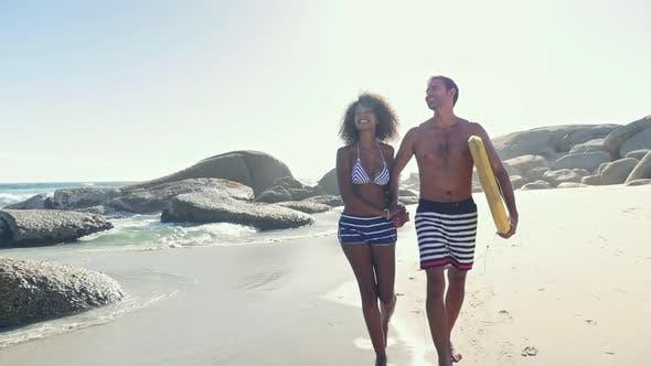 Thumbnail for Couple on beach