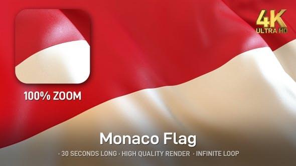 Thumbnail for Monaco Flag - 4K