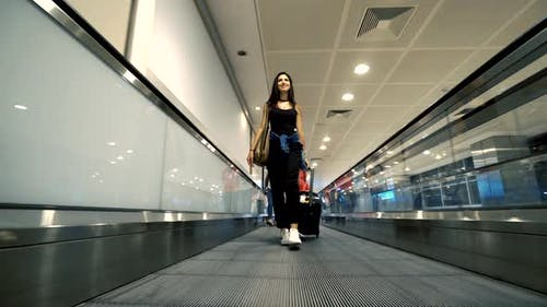 Flughafen Passagier