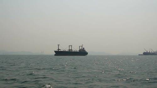 Cargo Ship Freighter