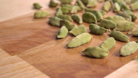 Herbal spice cardamom seasoning