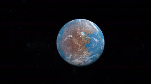 Pangaea or Pangea Earth Supercontinent